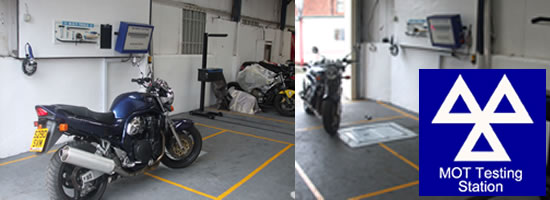 Motorcycle mots Tameside, Manchester, Stockport and Oldham