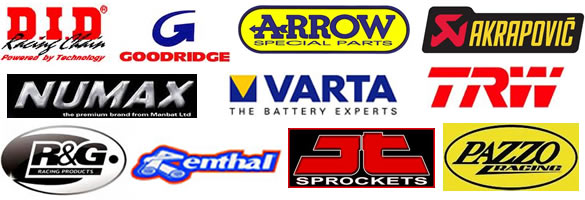 Motorcycle parts Tameside, Manchester, Stockport and Oldham